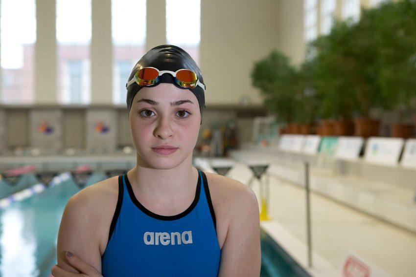 Yusra Mardini, 18 anos, nadadora e ex-refugiada