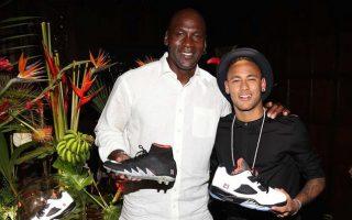 Michael Jordan e Neymar Jr.