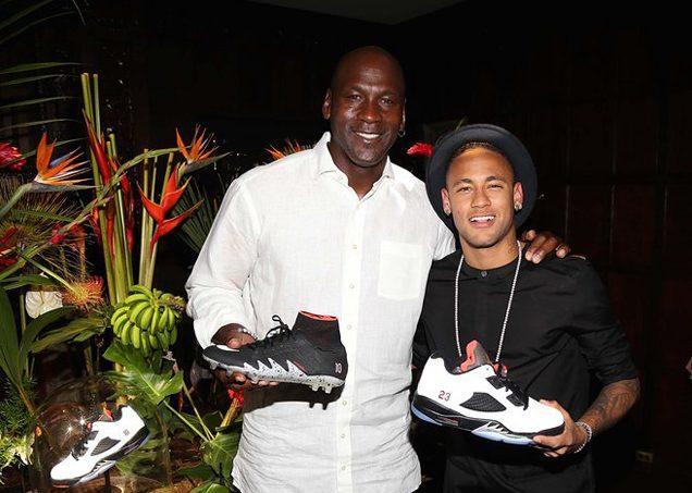 8d7587a30042c8 Neymar e Michael Jordan conhecem-se há algum tempo e não escondem a  admiração que sentem um pelo outro. Tendo em conta essa amizade e o sucesso  alcançado ...