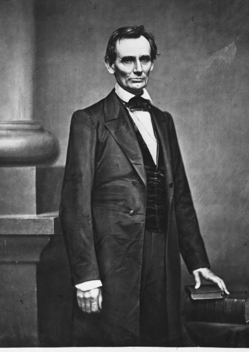Abraham Lincolin (1860, Mathew Brady)