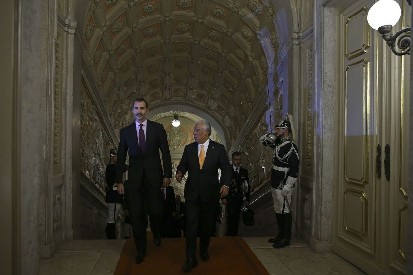 Spanish royal couple visits Lisbon