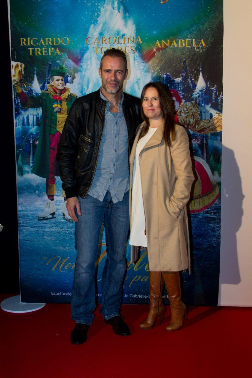 Afonso Vilela e Ana Machado