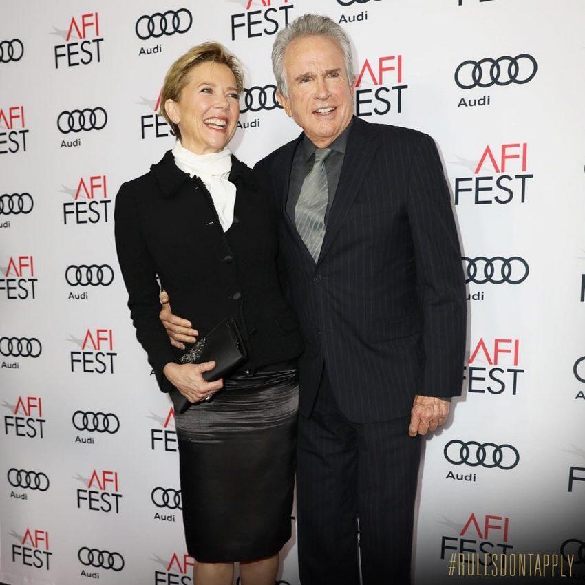 Annette Bening e Warren Beatty