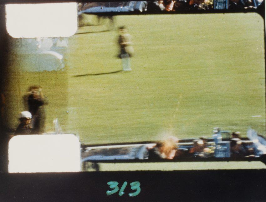 Assassinato de Kennedy, Frame 313 (1963, Abraham Zapruder)