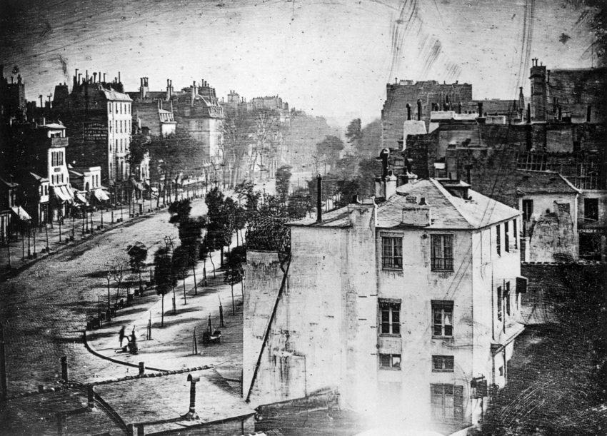 Avenida do Templo (1839, Louis Daguerre)