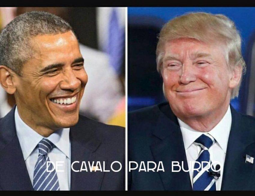 barack-obama-e-donald-trumo-de-cavalo-para-burro
