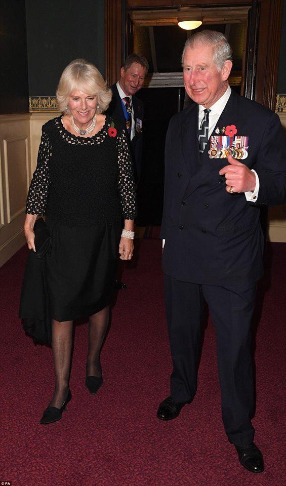 Camilla, duquesa da Cornualha, e príncipe Carlos