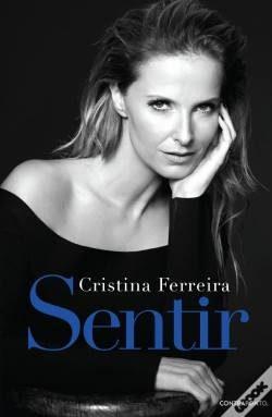 A capa do livro de Cristina Ferreira