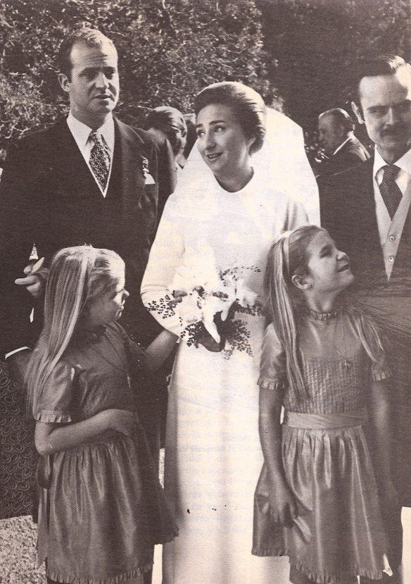 O casamento da infanta Margarida, irmã de Juan Carlos, foi no Estoril
