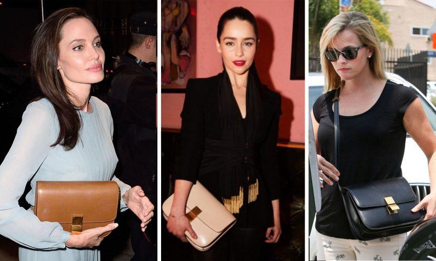 Angelina Jolie, Emilia Clarke e Reese Witherspoon não passam sem a Box Bag.