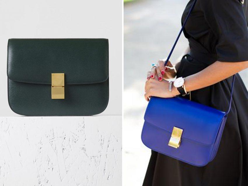 Box Bag, Céline: lançada em 2011 por Phoebe Philo, responsável da marca desde 2008, este modelo procurou alcançar o sucesso de outrora. E conseguiu!