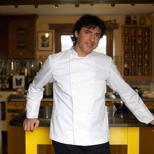 O chef Jean-Christophe Novelli
