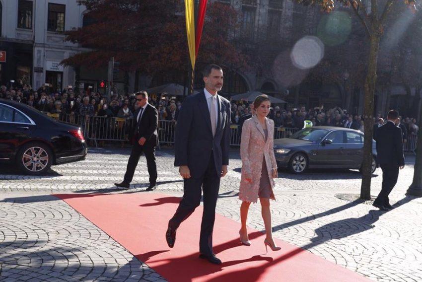 A chegada dos reis à Câmara do Porto