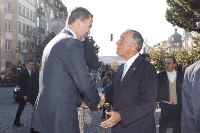 Marcelo Rebelo de Sousa recebeu Felipe