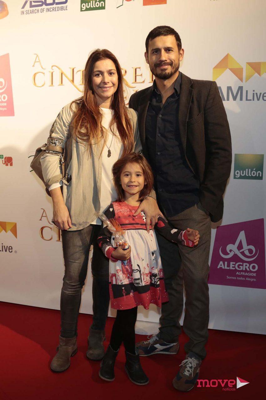 Martinho Silva com a família