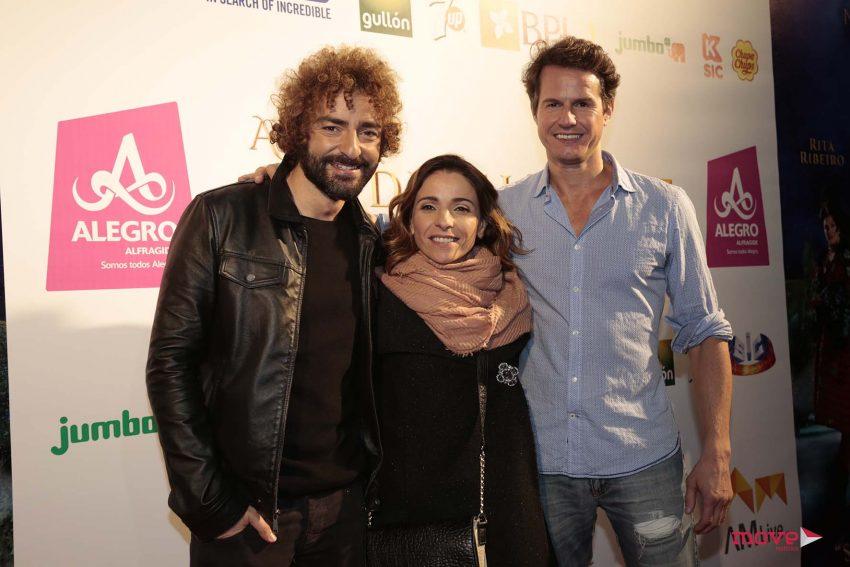 Diogo Faria, Anabela e Ricardo Trepa