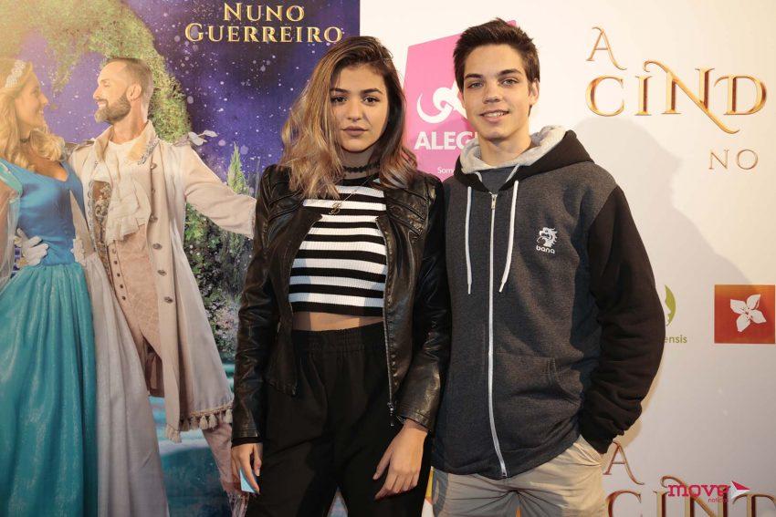 Bárbara Bandeira e Artur Dinis