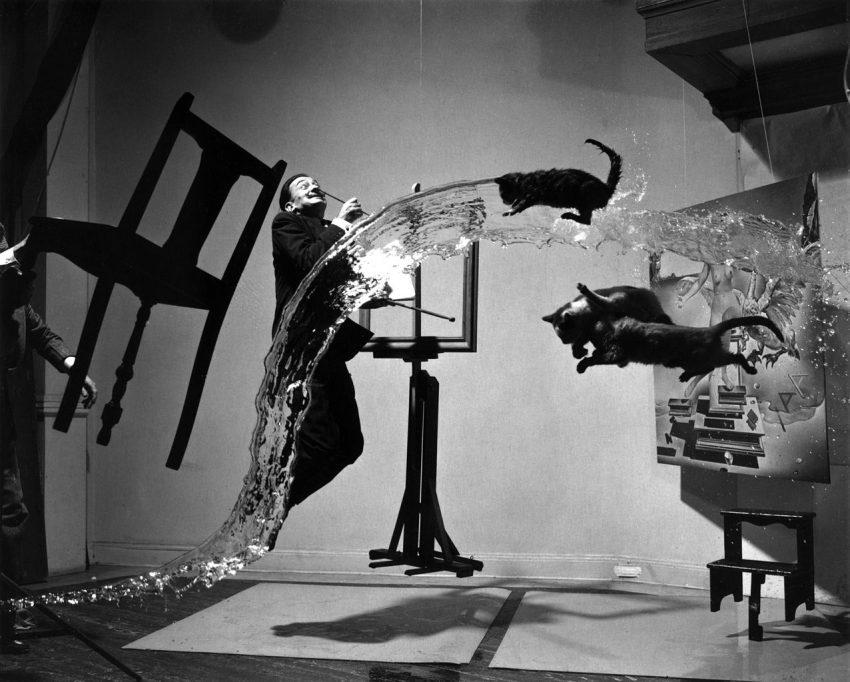 Dali Atomicus (1948, Philippe Halsman)