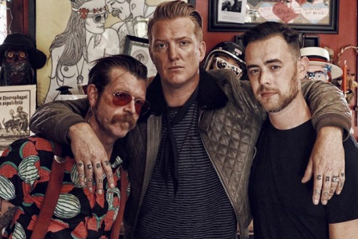 Eagles of Death Metal com Colin Hanks