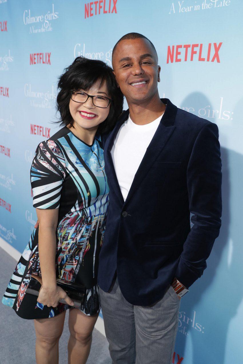 Keiko Agena e Yanic Truesdale