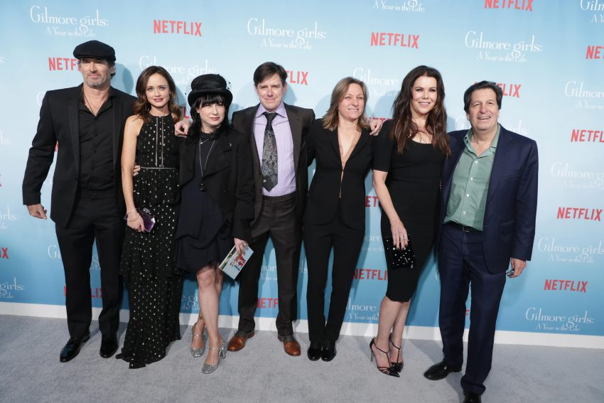 Scott Patterson, Alexis Bledel, Amy Sherman-Palladino, Daniel Palladino, Cindy Holland, Lauren Graham, Peter Roth