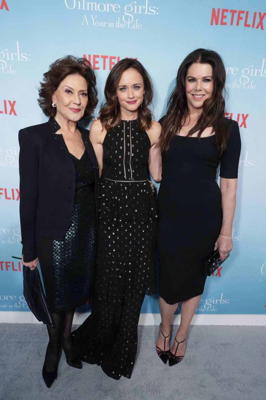 Kelly Bishop, Alexis Bledel e Lauren Graham