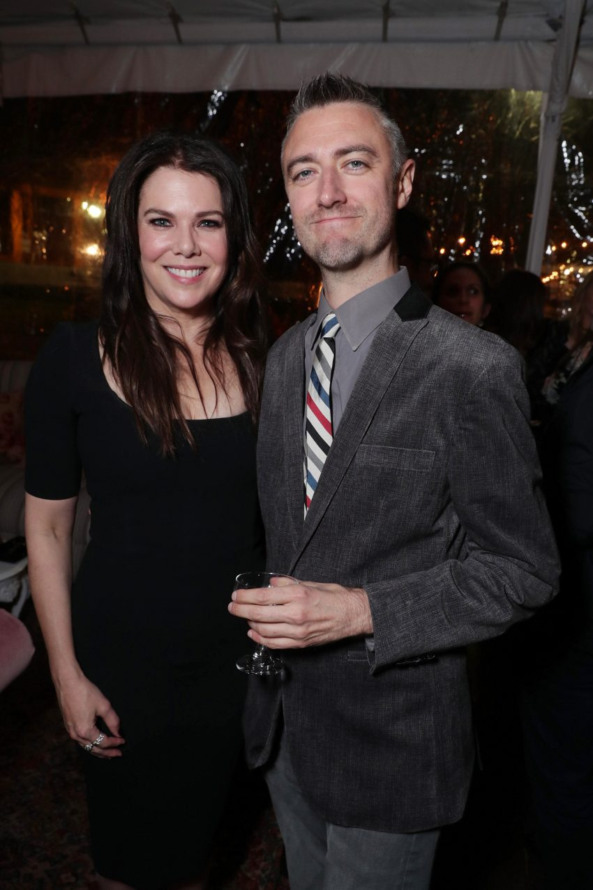Lauren Graham e Sean Gunn