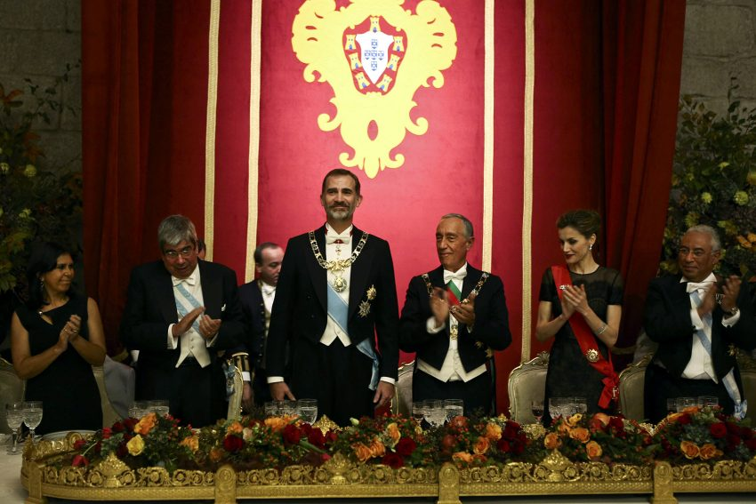 Spanish royal couple visits Portugal