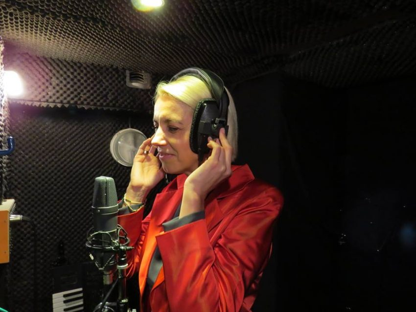 Durante as gravações da música