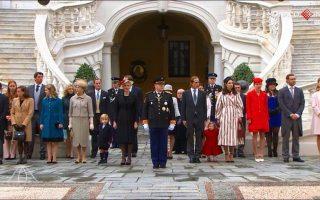 A família real monegasca