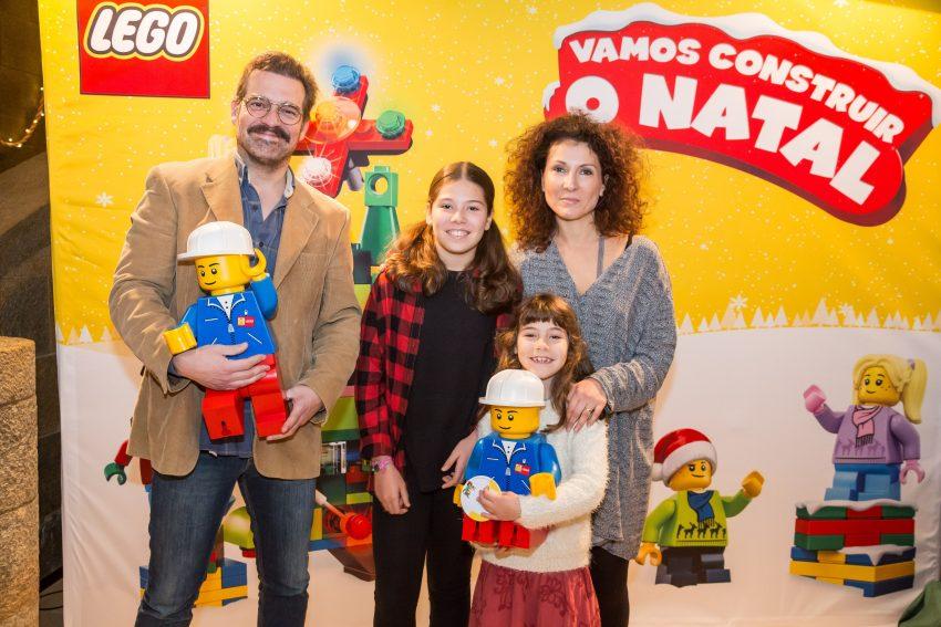Pepê Rapazote e Mafalda Vilhena com as filhas