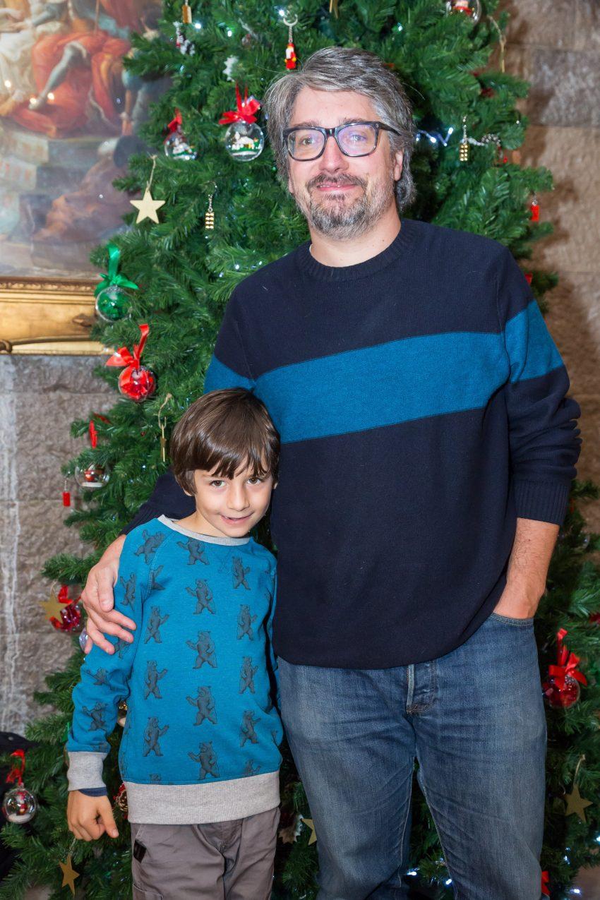 Nuno Markl com o filho