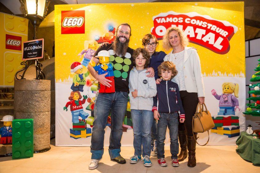 Quimbé e Ana Palma com os filhos