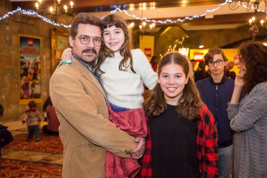 Pepê Rapazote com as filhas