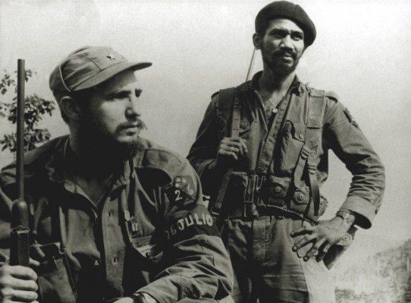 Fidel Castro e Juan Almeida