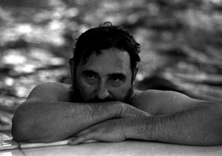 Natação também fez parte da vida de Fidel Castro