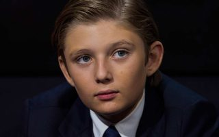 Barron William Trump é o mais novo