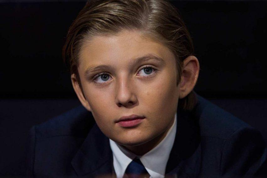Barron William Trump é o mais novo