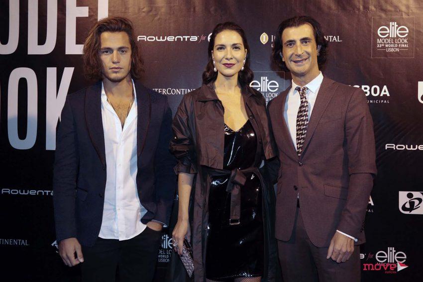 João Mota, Soraia Chaves e Hélio Bernardino