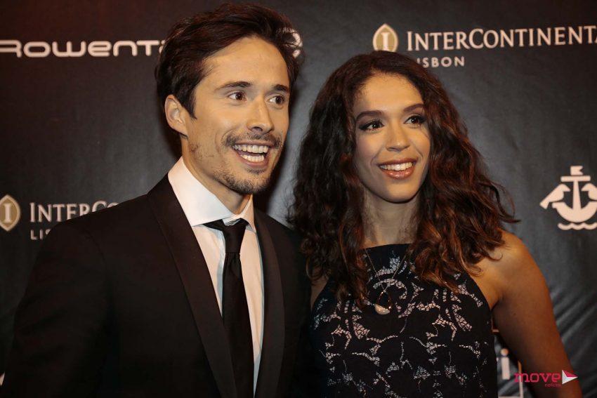 João Paulo Sousa e Adriana Gomes