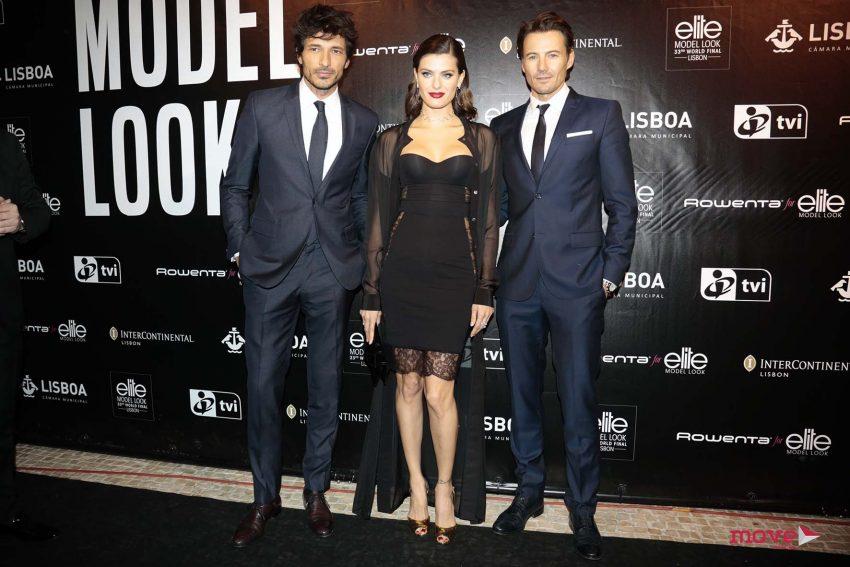 Isabeli Fontana com Andres Velencoso e Alex Lundqvist