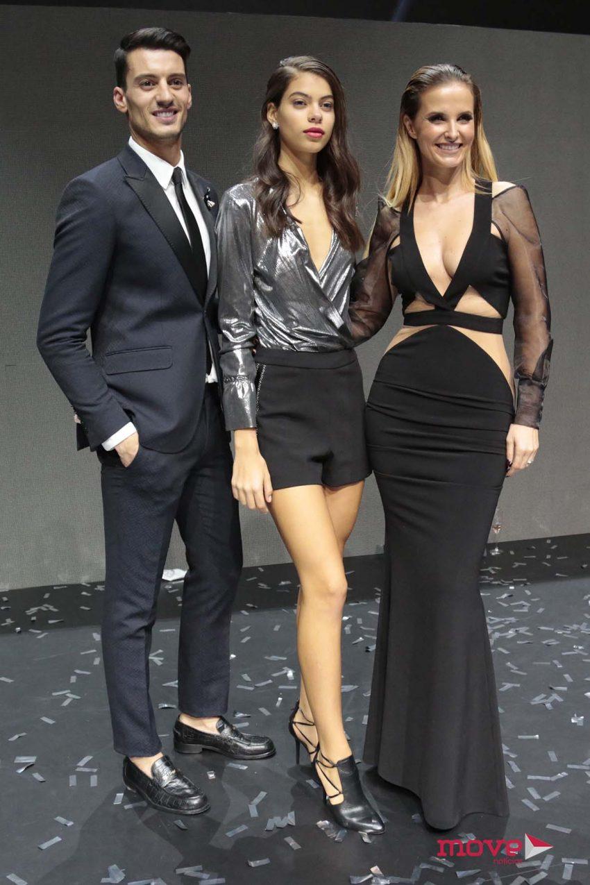 Ruben Rua e Cristina Ferreira com Zara Bicha
