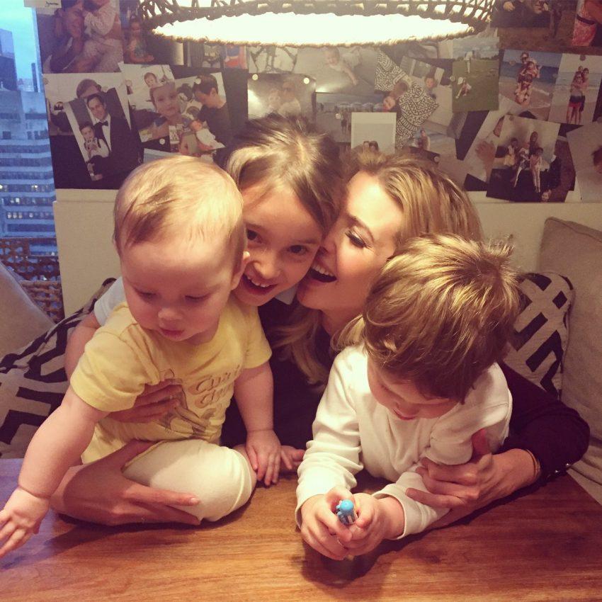 E os três filhos