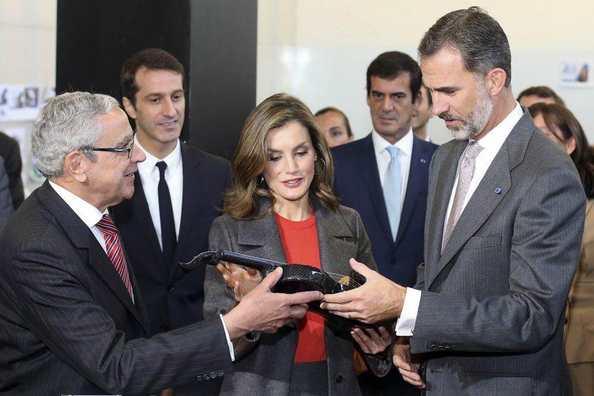 Spanish royal couple visits Porto
