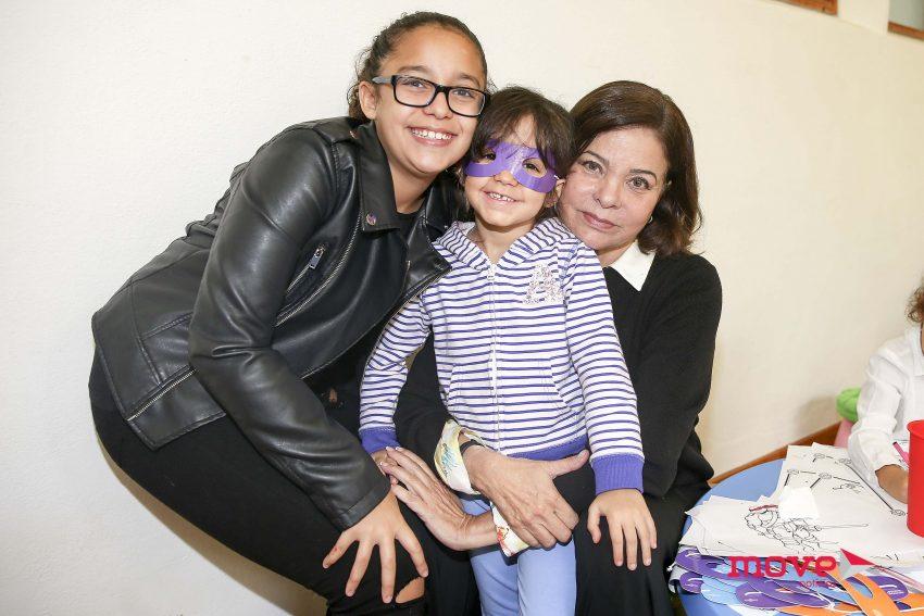 Marluce, Yasmin e Kyara