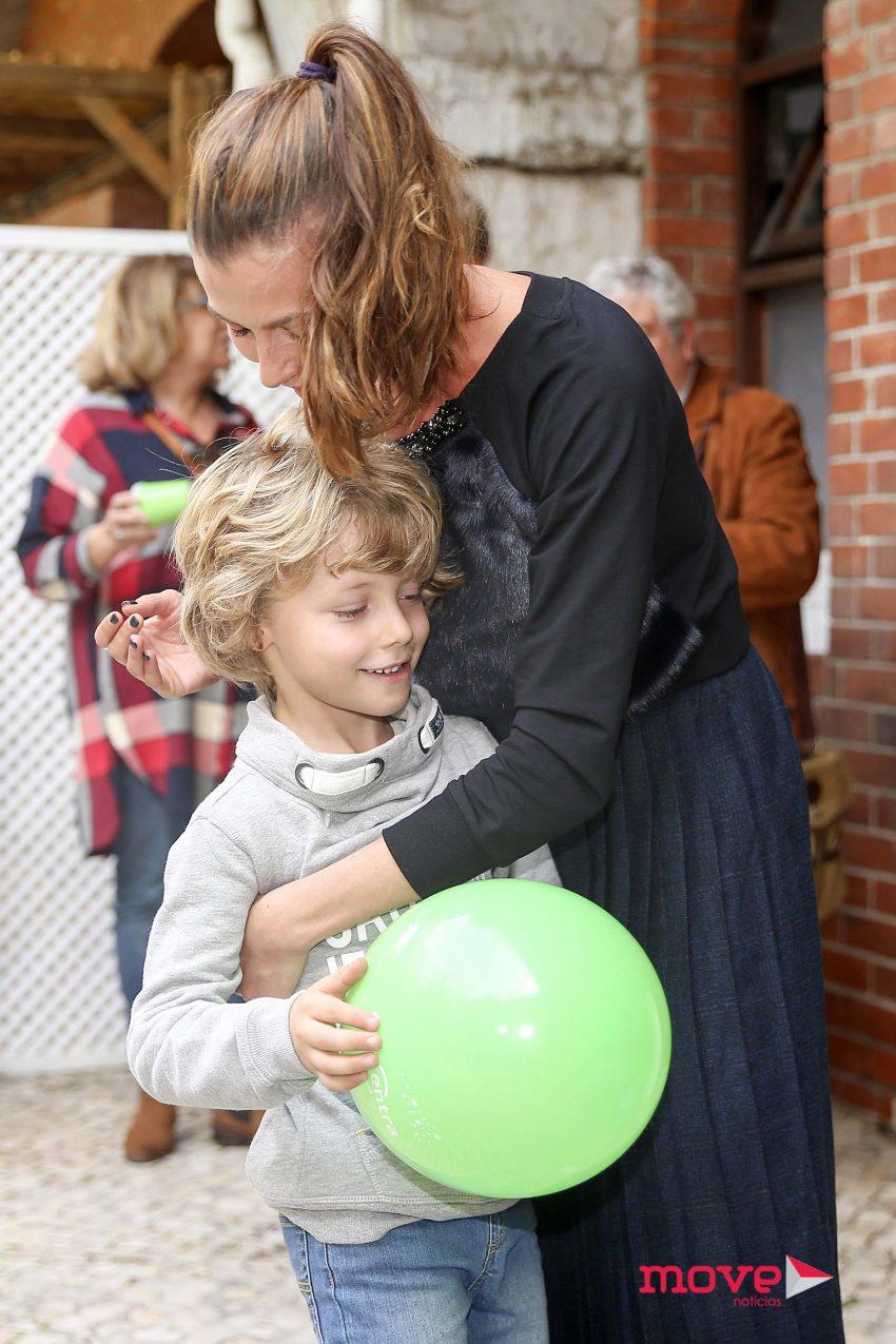 Cláudia Borges e filho Rodrigo