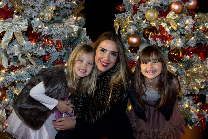Joana Villas Boas com as filhas