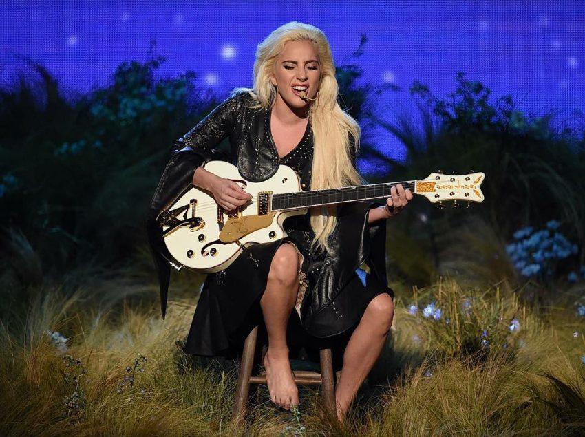 Lady Gaga no palco