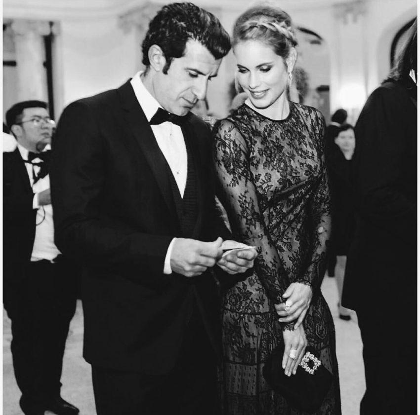 Helene Svedin e Luís Figo também estiveram no baile