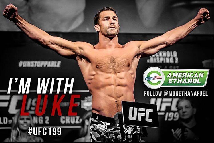 Luke Rockhold é lutador de